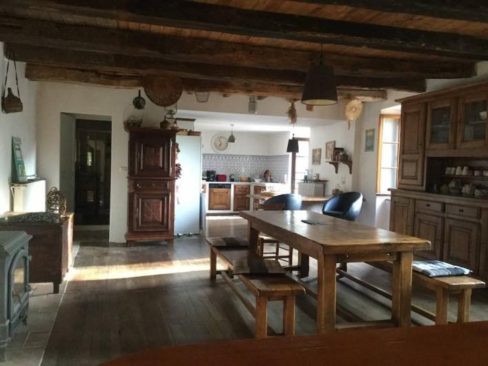 Location de vacances - Maison - Villa à Curvalle - Salle-de-vie
