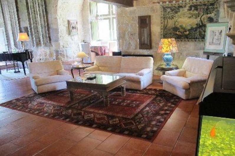 Location de vacances - Château - Manoir à Gueyze - Grand Salon