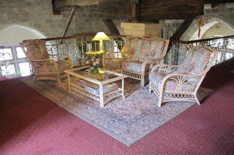 Location de vacances - Château - Manoir à Gueyze - Salon de lecture