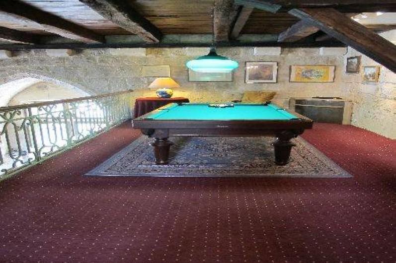 Location de vacances - Château - Manoir à Gueyze - Le Billard