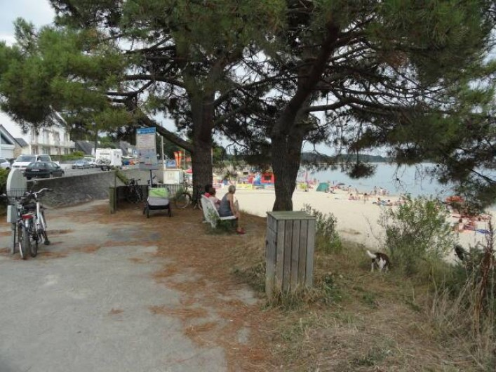 Location de vacances - Appartement à La Trinité-sur-Mer - Entrée plage du Men Du