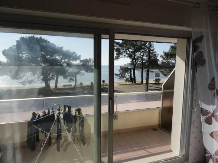 Location de vacances - Appartement à La Trinité-sur-Mer - Vue salon-salle à manger