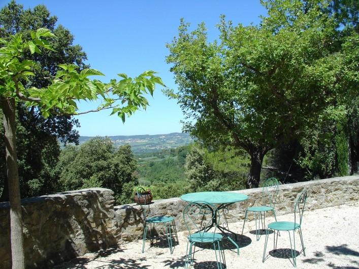 Location de vacances - Mas à Piégon - Terrasse