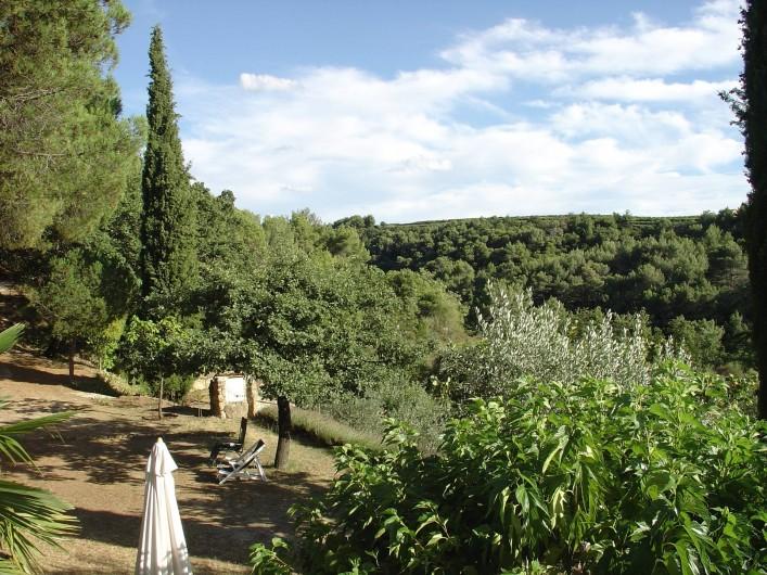 Location de vacances - Mas à Piégon - Vue d' extérieur