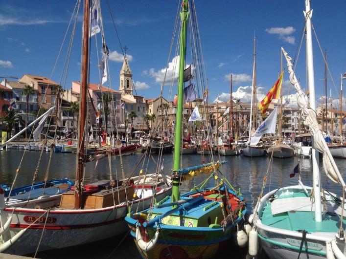 Location de vacances - Appartement à Sanary-sur-Mer - SANARY - Son port tout proche de notre petite Résidence