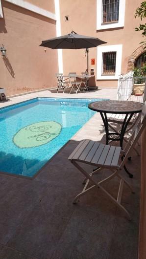 Location de vacances - Gîte à Siruela - Más piscina