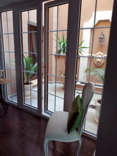 Location de vacances - Gîte à Siruela - Pequeño patio en planta baja
