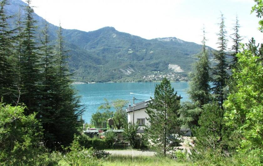Location de vacances - Appartement à Savines-le-Lac - Vue en hauteur de la maison