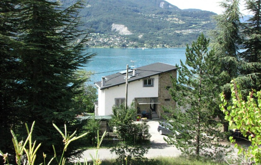 Location de vacances - Appartement à Savines-le-Lac - Vue de la maison côté Nord