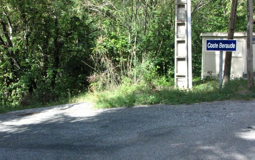 Location de vacances - Appartement à Savines-le-Lac - Arrivée, panneau indicateur