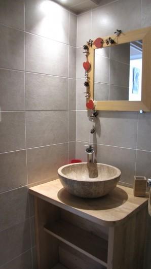 Location de vacances - Appartement à Savines-le-Lac - Salle de douche