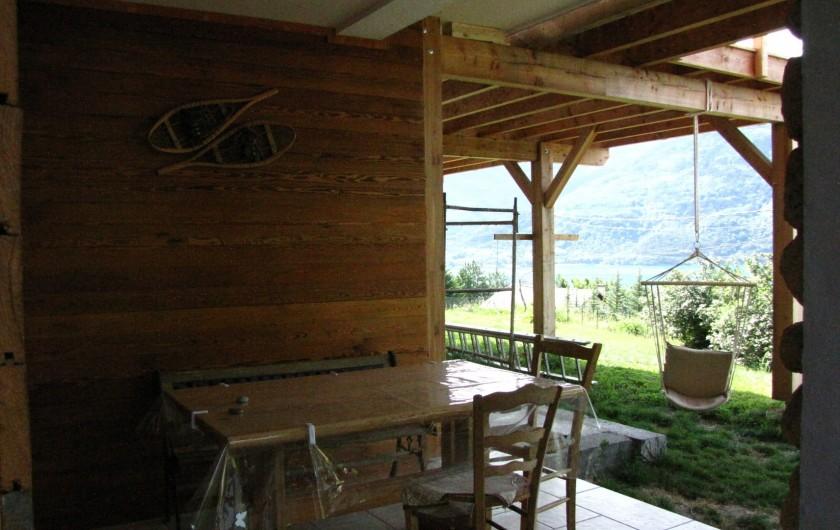 Location de vacances - Appartement à Savines-le-Lac - Terrasse privée