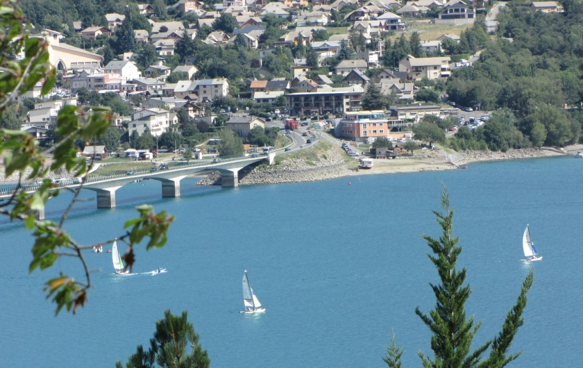 Location de vacances - Appartement à Savines-le-Lac - Activités nautiques