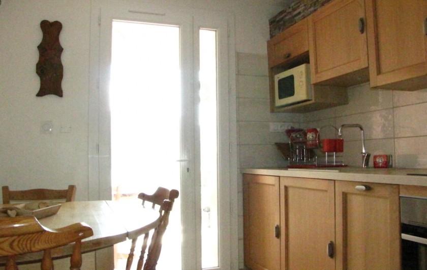 Location de vacances - Appartement à Savines-le-Lac - Cuisine