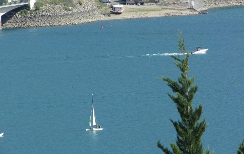 Location de vacances - Appartement à Savines-le-Lac - Vie sur le lac