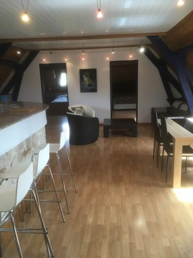 Location de vacances - Appartement à Audinghen - séjour-salon