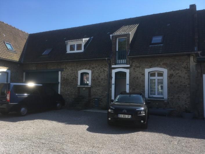 Location de vacances - Appartement à Audinghen - parking résidence