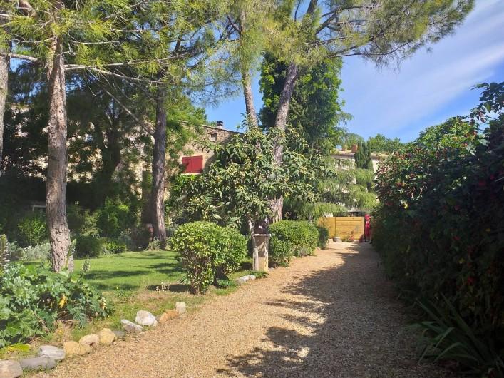 Location de vacances - Gîte à Roujan - Accès pour aller au gîte