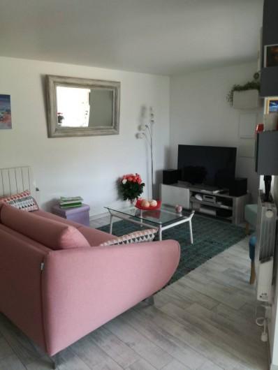 Location de vacances - Appartement à Le Lavandou - Salon
