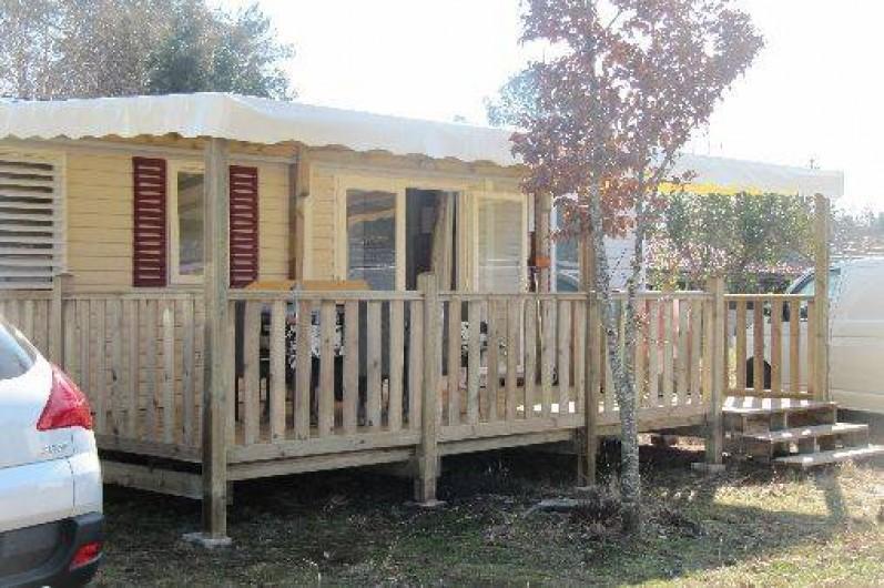 Location de vacances - Camping à Sainte-Eulalie-en-Born