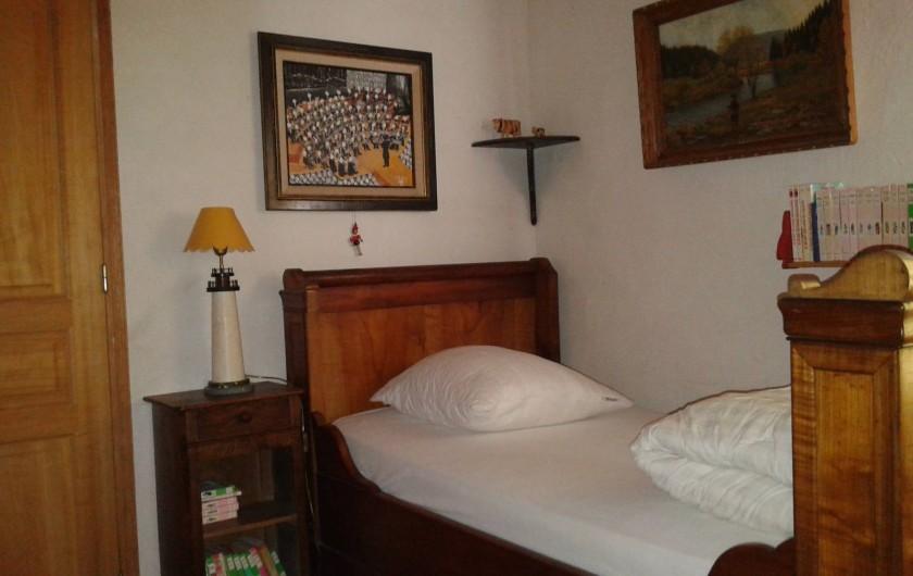Location de vacances - Maison - Villa à Saint-Clément-des-Baleines - chambre 3 lit bateau de 90  + deux lits superposés de 90