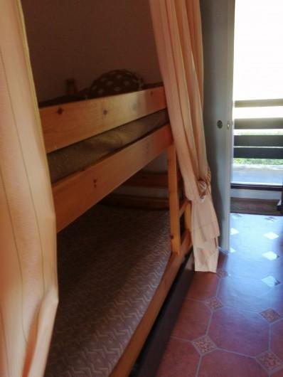 Location de vacances - Studio à Gresse-en-Vercors - Les lits superposes