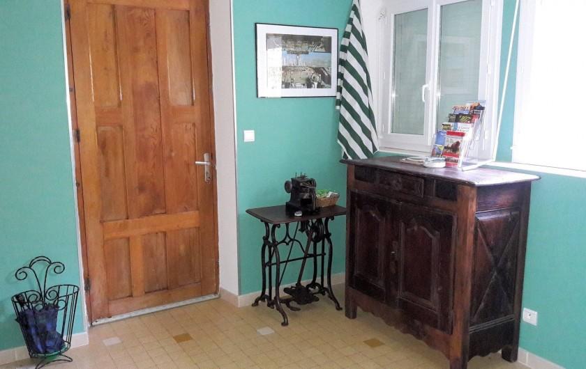 Location de vacances - Gîte à Peyreleau - Vue appartement Hall