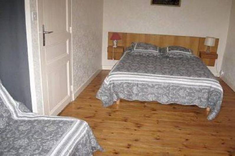 Location de vacances - Maison - Villa à Loctudy - chambre 2 ,avec un lit 2 personnes