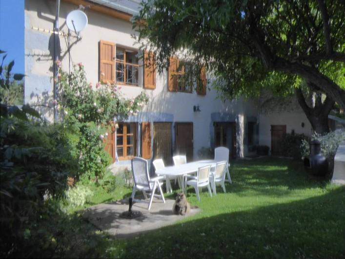 Location de vacances - Chambre d'hôtes à Oris-en-Rattier - maison principale