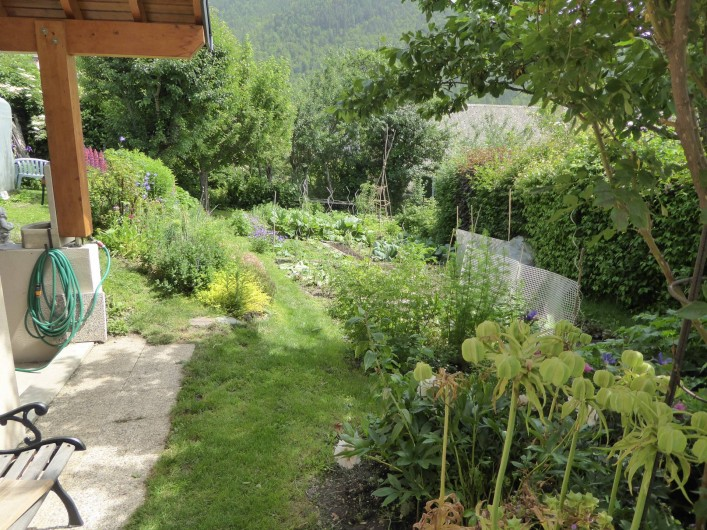 Location de vacances - Chambre d'hôtes à Oris-en-Rattier - la potager