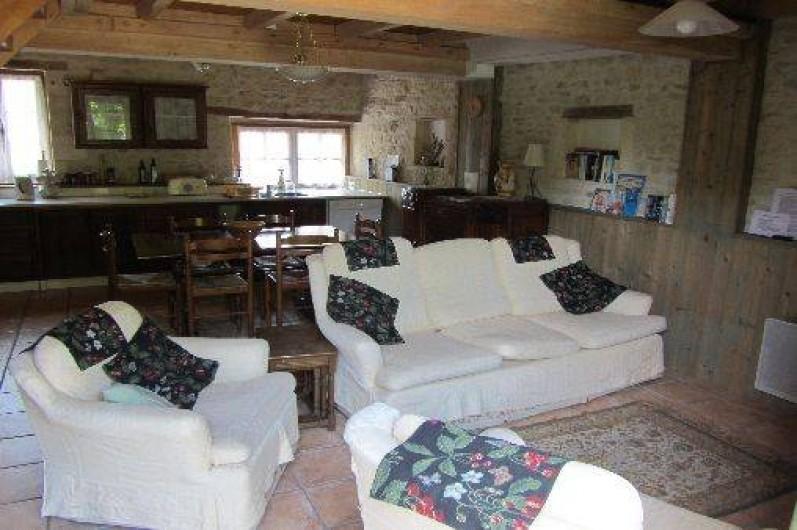 Location de vacances - Gîte à Saint-Crepin - Salon - gite La Lavande