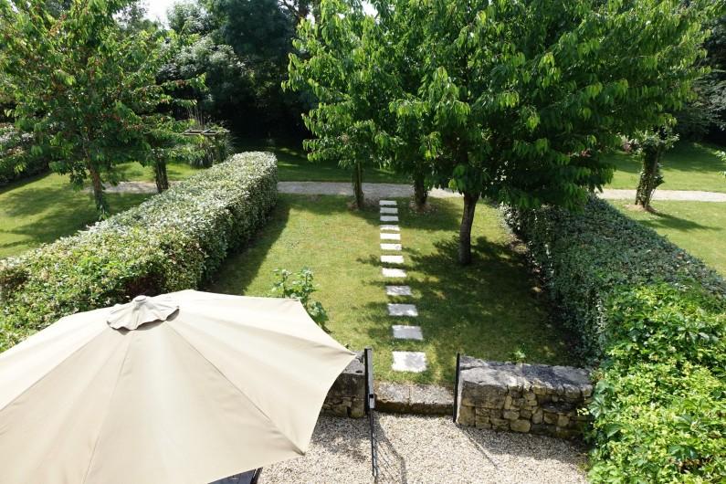 Location de vacances - Gîte à Saint-Crepin - Vue de la fenetre