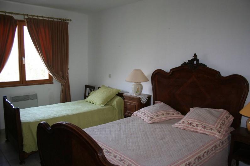 Location de vacances - Villa à Saint-Martin-sur-Lavezon - Chambre 3