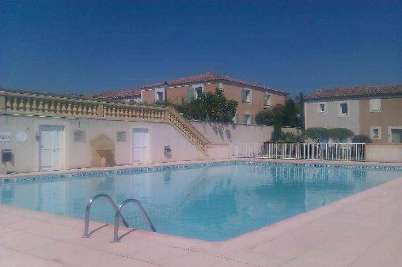 Location de vacances - Maison - Villa à Uzès - Piscine de la résidence