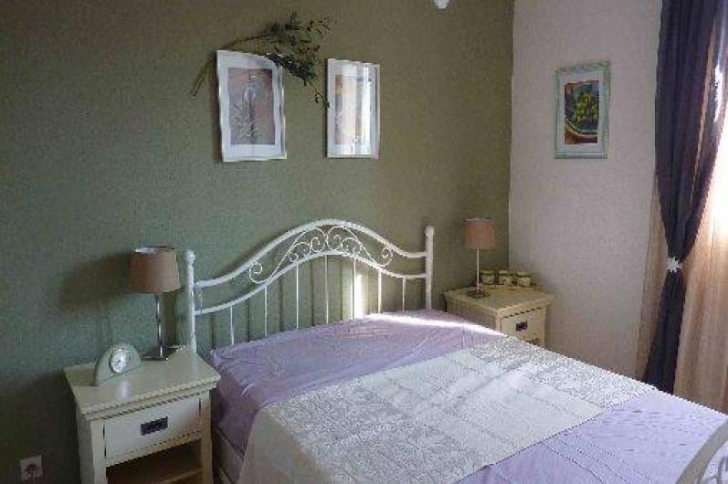Location de vacances - Maison - Villa à Uzès - Chambre olive