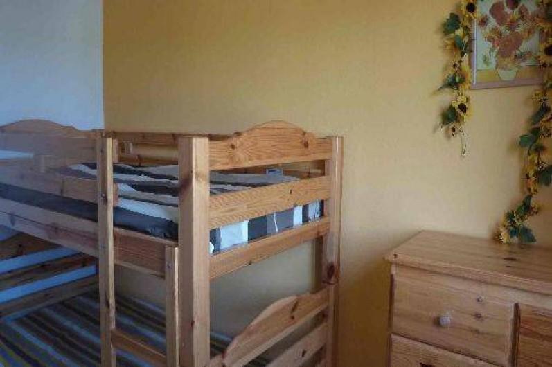 Location de vacances - Maison - Villa à Uzès - Chambre enfants lits superposés