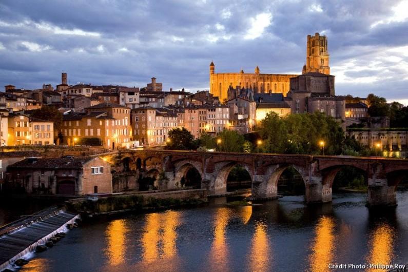 Location de vacances - Appartement à Roquecourbe - Albi avec sa Cathédrale patrimoine de l'UNESCO