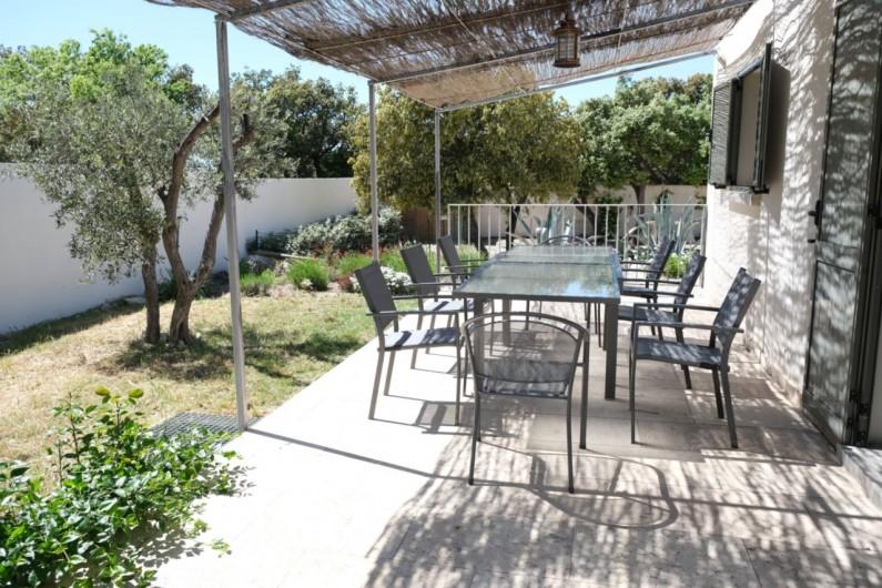 Location de vacances - Villa à Aureille - Seconde terrasse