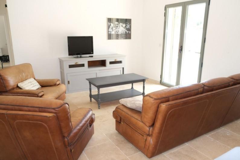 Location de vacances - Villa à Aureille - Coin salon