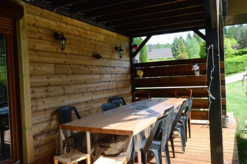 Location de vacances - Chalet à Xonrupt-Longemer - salle à manger 14 places