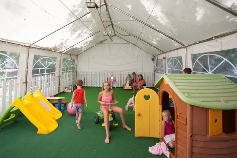 Location de vacances - Gîte à Calviac-en-Périgord - tente enfants