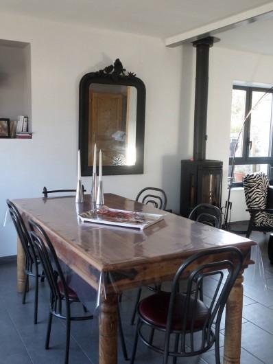 Location de vacances - Maison - Villa à Erquy - Pièce principale, côté repas