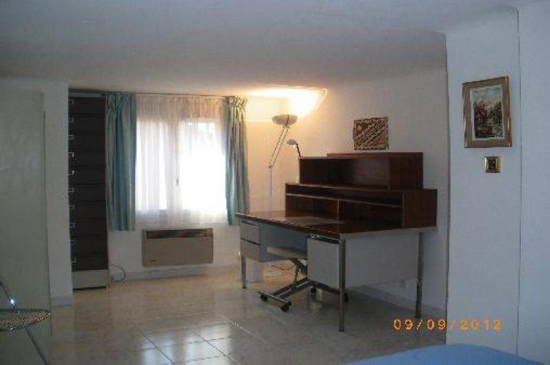 Location de vacances - Appartement à Vaison-la-Romaine - Coin bureau