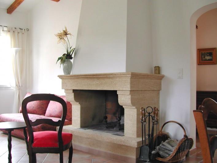 Location de vacances - Villa à Mormoiron - Pièce à vivre