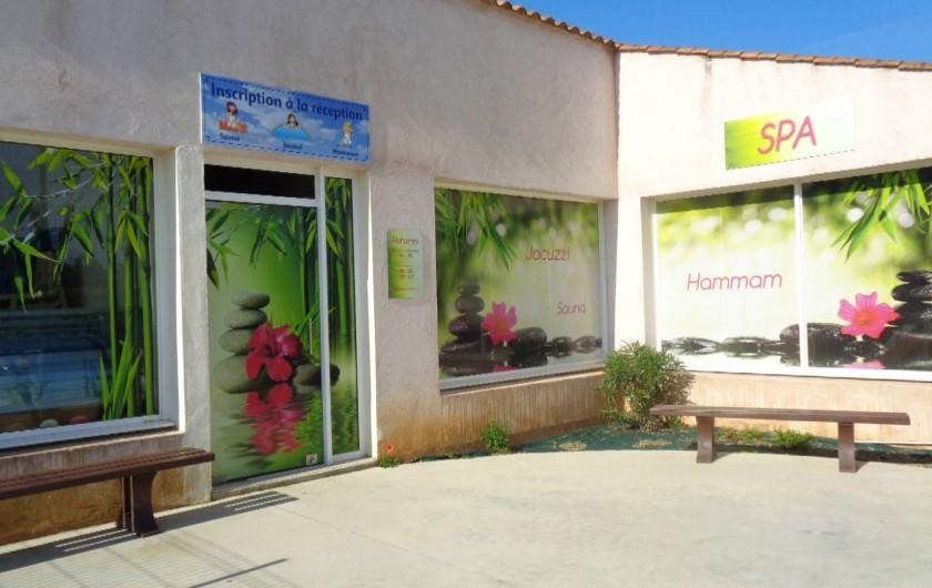 Location de vacances - Camping à Aytré - saune hammam et jacuzzi sur réservation à l'accueil et payant.