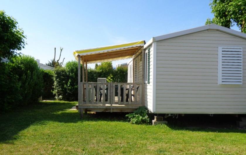 Location de vacances - Camping à Aytré - emplacement mobile home