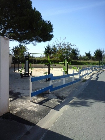 Location de vacances - Camping à Aytré - l'espace fitness extérieur