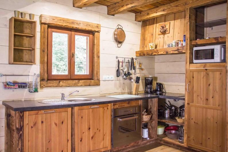 Location de vacances - Chalet à Sainte-Marie-aux-Mines - coin cuisine