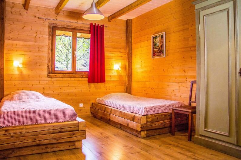 Location de vacances - Chalet à Sainte-Marie-aux-Mines - angle chambre 4 personnes