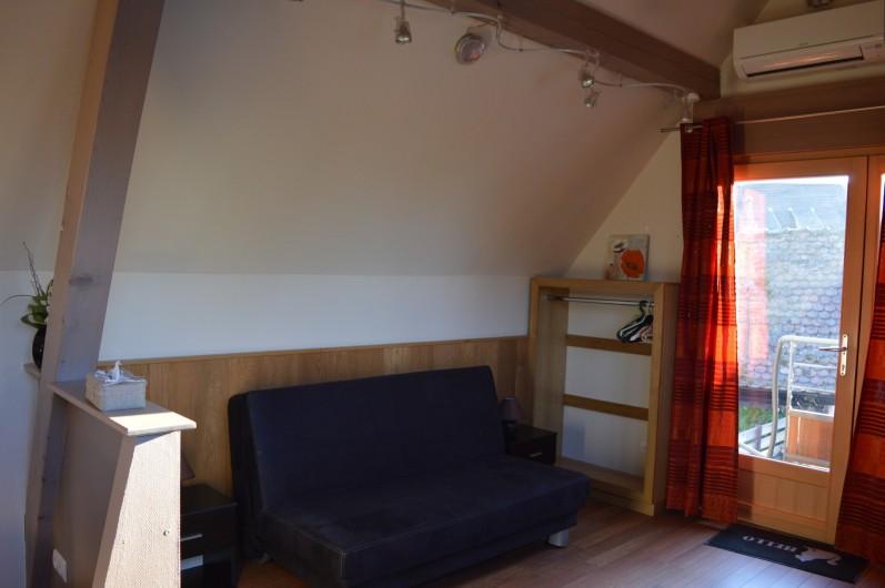 Location de vacances - Gîte à Turckheim - le canape-lit